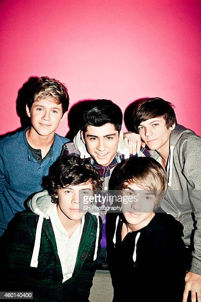 Pop band One Direction are photographed on November 24 2010 in London England