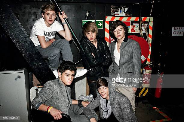 Pop band One Direction are photographed on November 28 2010 in London England