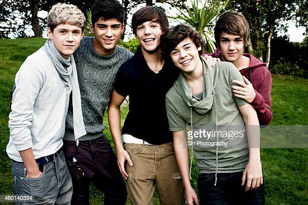 Pop band One Direction are photographed on October 6 2010 in London England