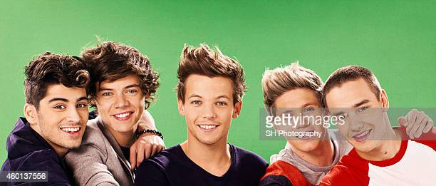 Pop band One Direction are photographed on October 9 2012 in London England
