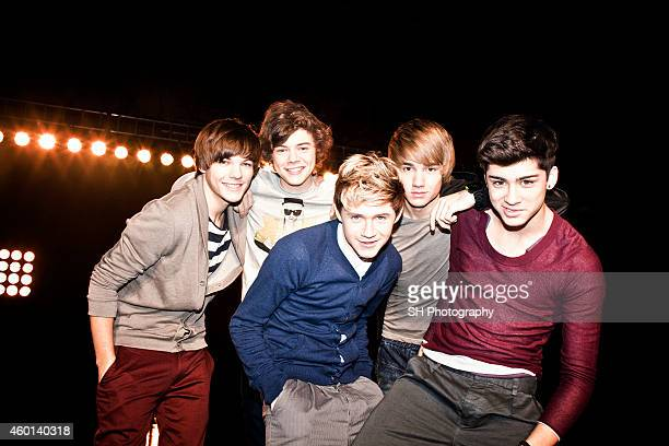 Pop band One Direction are photographed on September 10 2010 in London England