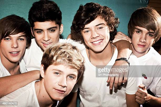 Pop band One Direction are photographed on September 11 2010 in London England