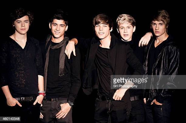 Pop band One Direction are photographed on September 12 2010 in London England