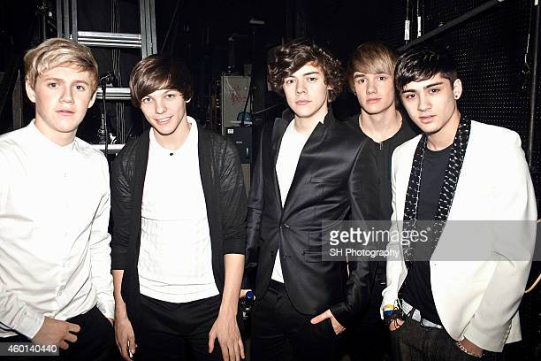 Pop band One Direction are photographed on September 13 2010 in London England