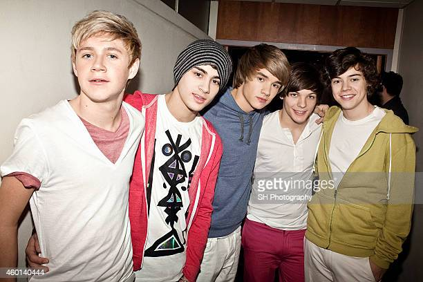 Pop band One Direction are photographed on June 14 2010 in London England