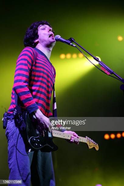 Pop band Snow Patrol performing at the Isle of Wight festival in 2007