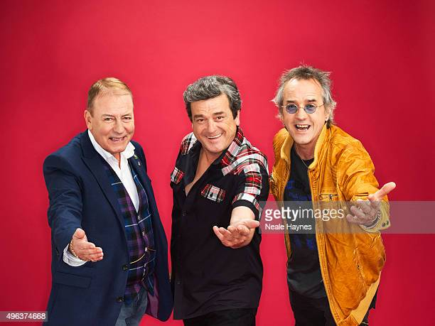 Pop band the Bay City Rollers are photographed for the for Daily Mail on September 24 2015 in London England