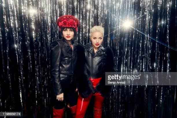 Pop band The Command Sisters attend the 62nd Annual Grammy Awards at Staples Center on January 26, 2020 in Los Angeles, CA.
