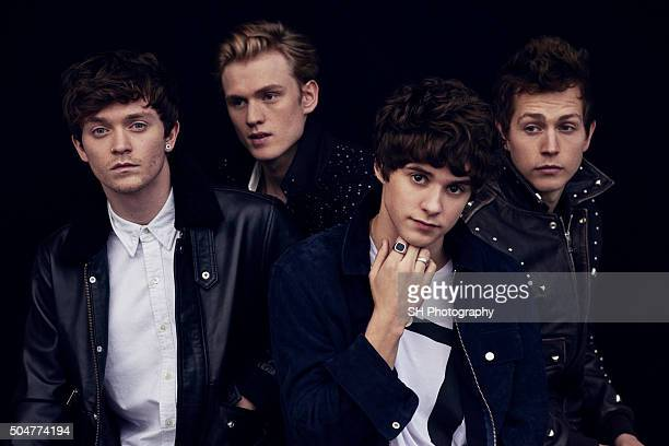 Pop band The Vamps are photographed for Notion magazine on October 23 2015 in London England