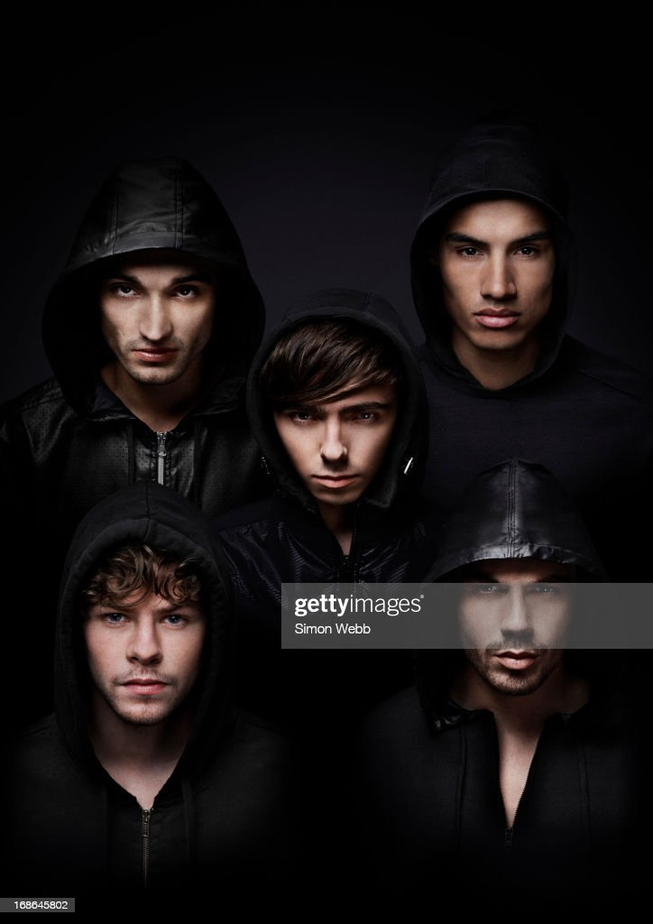 The Wanted, Portrait shoot, January 11, 2012