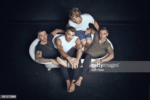 Pop band Union J is photographed on July 22 2016 in London England