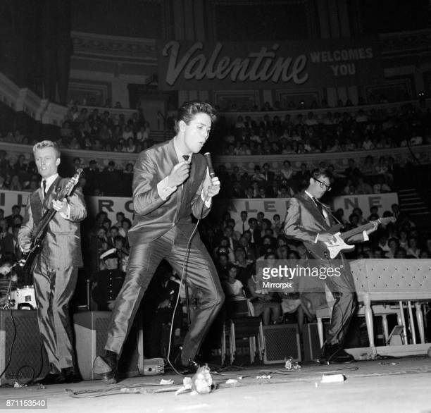 Pop concert at the Royal Albert Hall presented by Roxy, Marilyn and Valentine magazines to thousands of youngsters, attended by acts such as Adam...