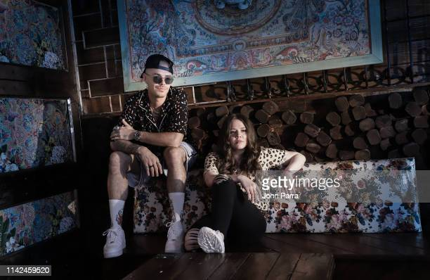 Pop duo Jesse Joy pose for a portrait on May 8 2019 in Miami Florida