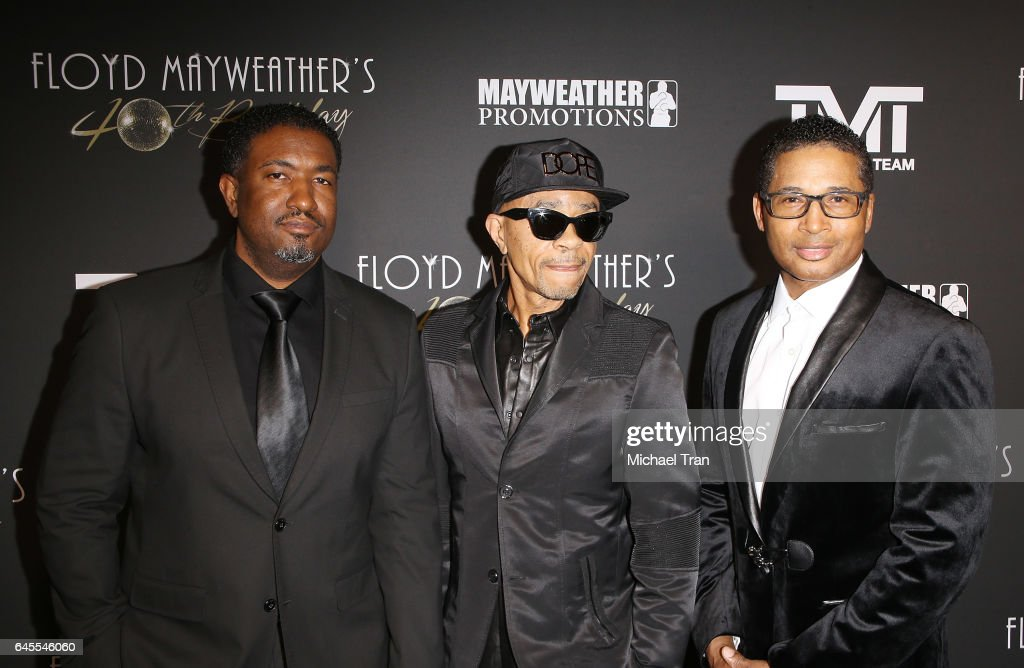Floyd Mayweather's 40th Birthday Celebration - Arrivals : News Photo