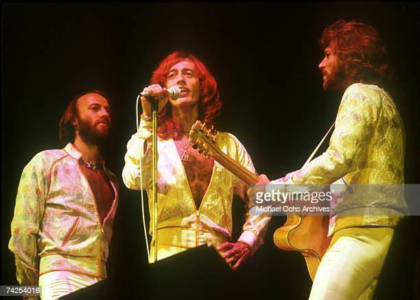 Pop group Bee Gees circa 1970