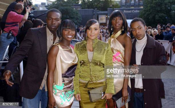 Pop group Big Brovaz arrive for the Disney Channel Kids Awards 2004 held at the Royal Albert Hall central London