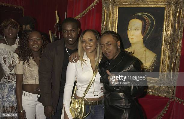 Pop group Big Brovaz at the UK premiere of 'ScoobyDoo 2 Monsters Unleashed' at Vue Islington on 26th March 2004 in London