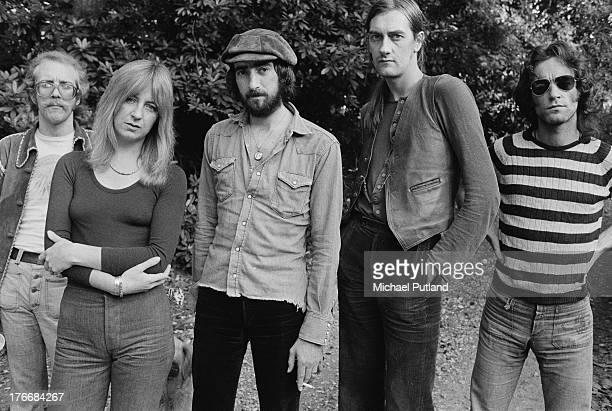 Pop group Fleetwood Mac September 1973 Left to right guitarist Bob Welch singer and keyboard player Christine McVie bassist John McVie drummer Mick...