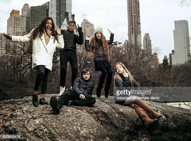 Pop group Kids United are photographed for Paris Match on December 11 2016 in New York City