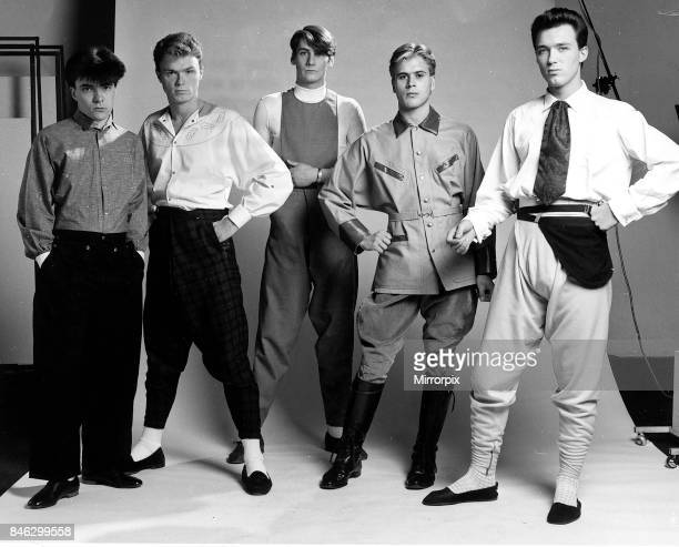 Pop group Spandau Ballet pictured in the Daily Mirror studio30th June 1980