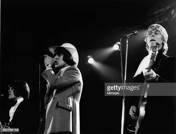 Pop group 'The Move' performing at the record star show at Empire Poll Wembley 17th April 1967