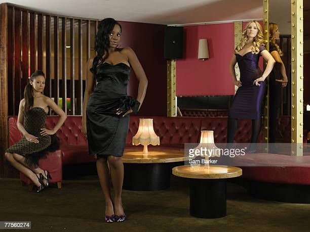 Pop group the Sugababes pose for a portrait shoot for You magazine in London on October 1 2006