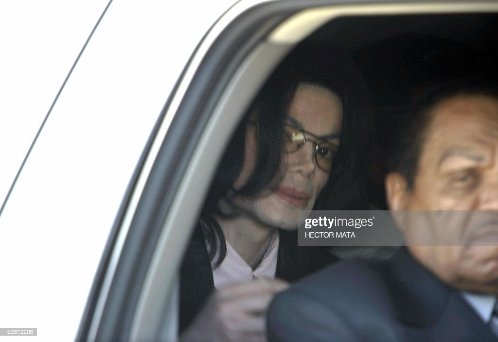 Incredible Us Pop Icon Michael Jackson Looks Through The Window Of His Andrewgaddart Wooden Chair Designs For Living Room Andrewgaddartcom
