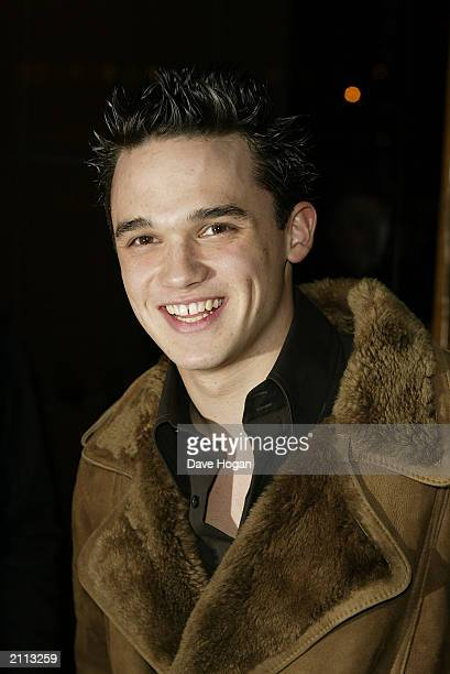 Pop Idol runner up Gareth Gates attends the Launch Party for Westlife album 'Unbreakable' on November 11 held at Zuma restaurant in London, England.