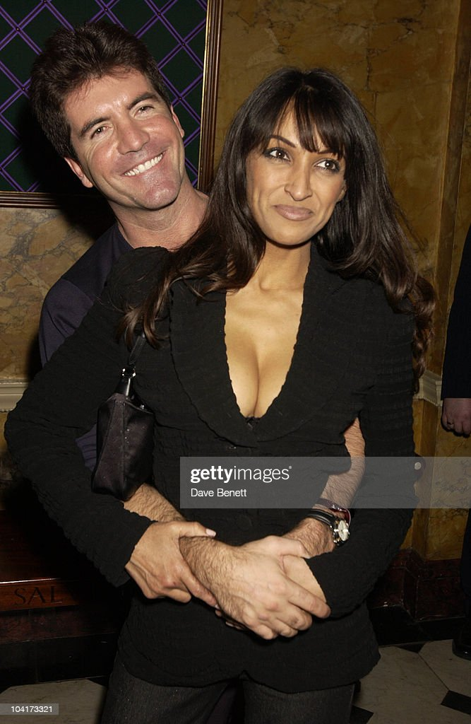 Pop Idols Simon Cowell And Friend Jackie Sinclair, Almost Every Pop Group Turned Up At To Home House To Celebrate The Home Magazine, BMG Brits Party At Home House, London