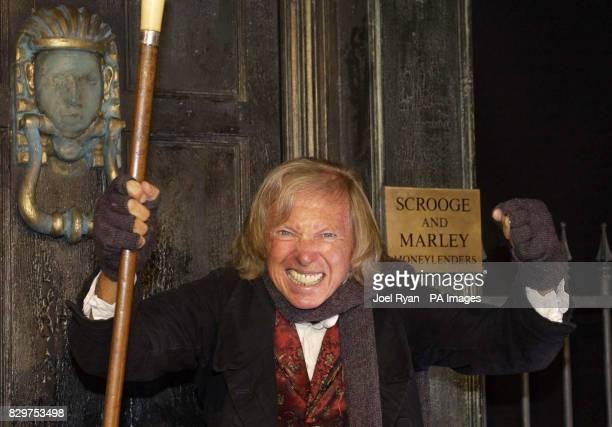 Pop legend Tommy Steele marks his return to the London Palladium to play Ebenezer Scrooge