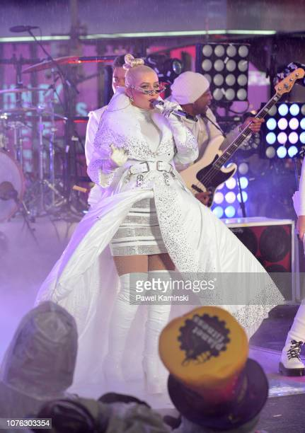 SEACREST 2019 Pop music icon Christina Aguilera will perform for a live audience of more than one million people just minutes before the ball drops...