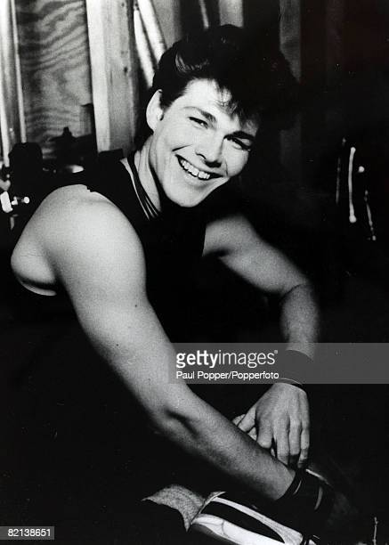 circa 1980's Morten Harket lead singer of the Norwegian pop group 'Aha' especially popular in the 1980's with a string of hit records