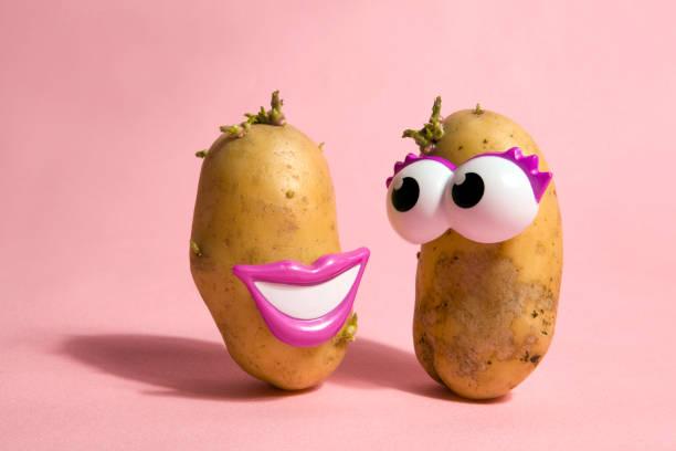 popping potatoes