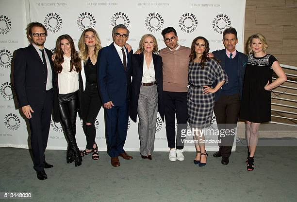 Pop President Brad Schwartz actress Sarah Levy actress Annie Murphy actor Eugene Levy actress Catherine O'Hara actor Daniel Levy actress Emily...