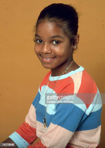 Pop singer and actress Janet Jackson poses for a portrait session on July 7, 1978 in Los Angeles, California.