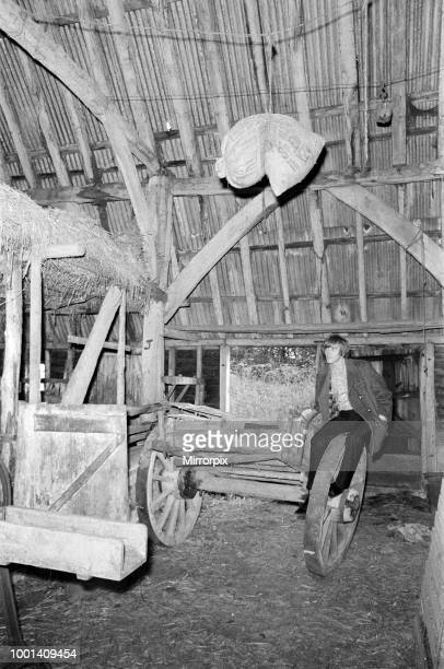 Pop singer Billy Fury has just bought a six acre farm near Ashford Kent where he will soon be able to keep all his animals and birds Pictured inside...
