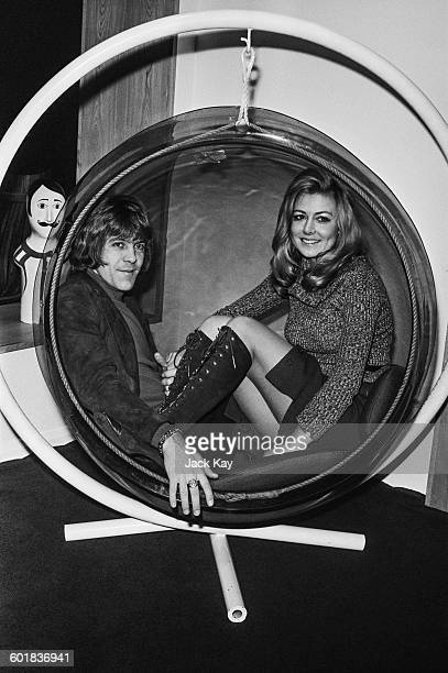 Pop singer Dave Dee and his fiancee Carol Dunning shopping for furniture UK 31st December 1970