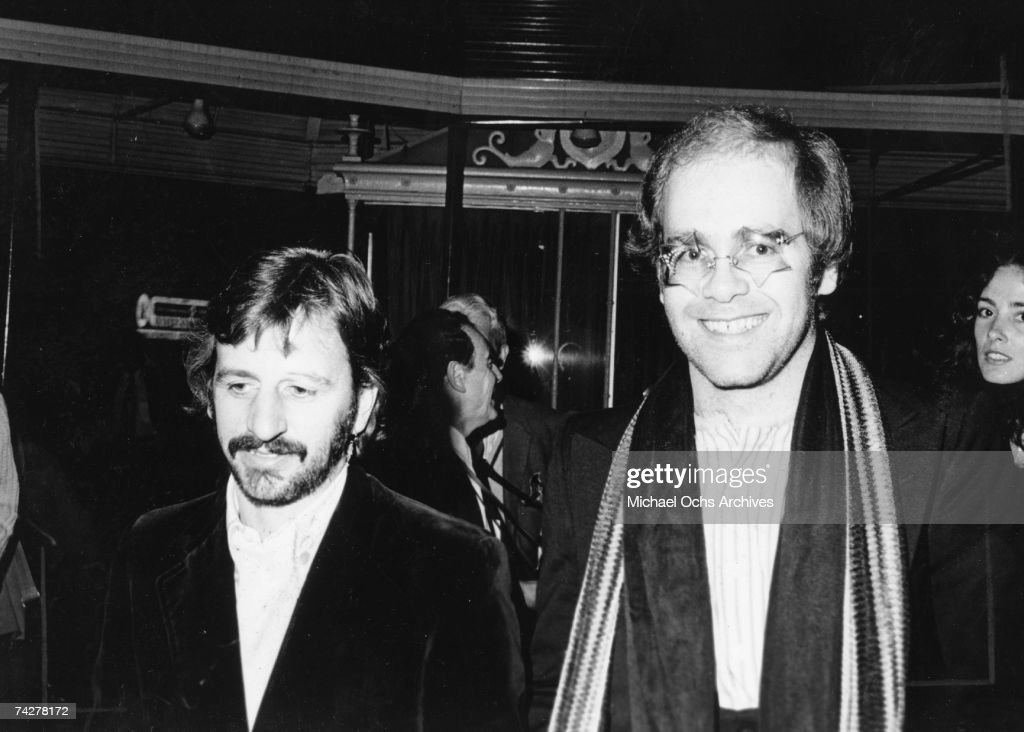 Elton & Ringo : News Photo