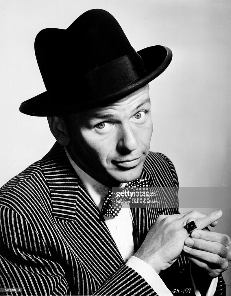 Sinatra Portrait : News Photo