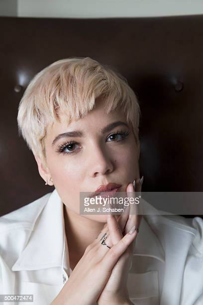 Pop singer Halsey is photographed for Los Angeles Times on November 19, 2015 in Los Angeles, California. PUBLISHED IMAGE. CREDIT MUST READ: Allen J....