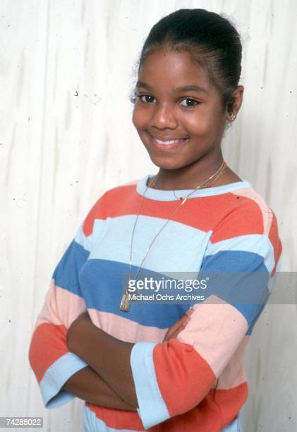 Pop singer Janet Jackson poses for a portrait session on July 7, 1978 in Los Angeles, California.