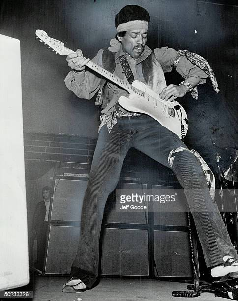 Pop singer Jimi Hendrix. Sex; rock and blues all in one package