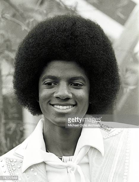 Pop singer Michael Jackson poses for a portrait session at home on September 7 1976 in Los Angeles California