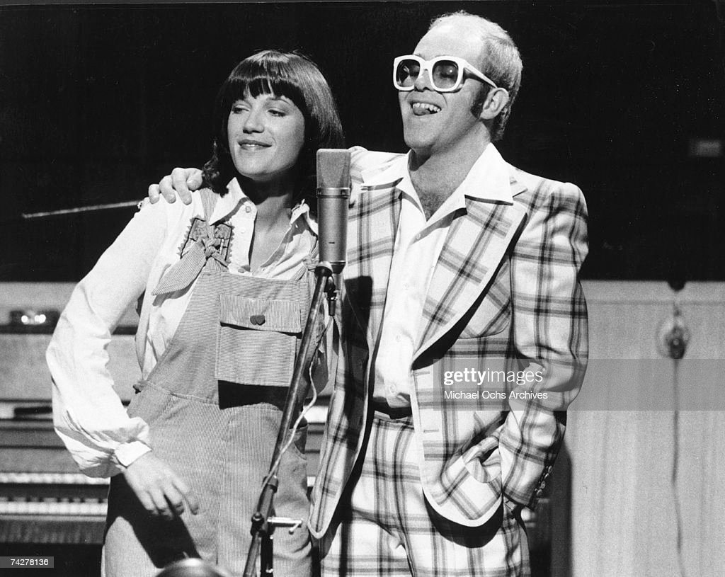 Elton & Kiki : News Photo
