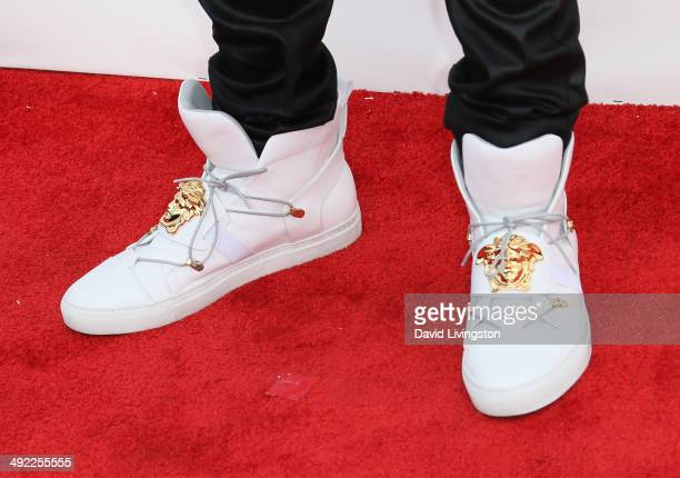 Pop singer/songwriter Austin Mahone attends the 2014 Billboard Music Awards at the MGM Grand Garden Arena on May 18 2014 in Las Vegas Nevada
