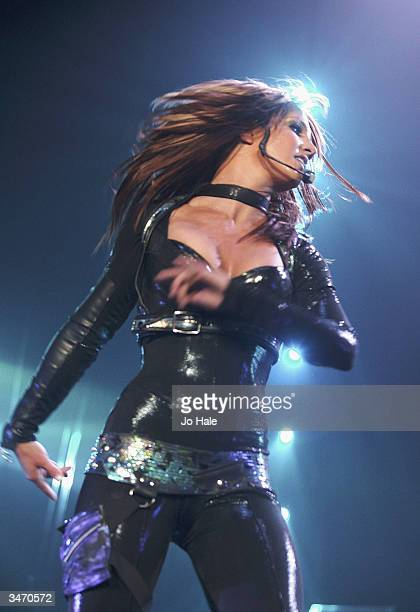Pop star Britney Spears plays the first night of her 'UK Onyx Hotel Tour 2004' at Wembley Arena on April 26 2004 in London The tour is her first UK...