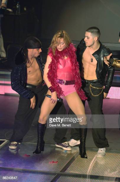 Pop star Madonna performs live at weekly gay night GAY promoting her latest album 'Confessions on a Dance Floor' released November 14 at The Astoria...