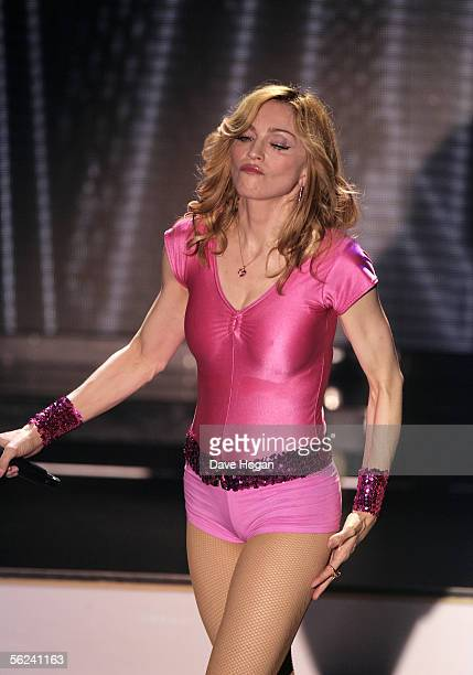 Pop star Madonna performs live at weekly gay night GAY promoting her latest album 'Confessions On A Dance Floor' released November 15 at The Astoria...