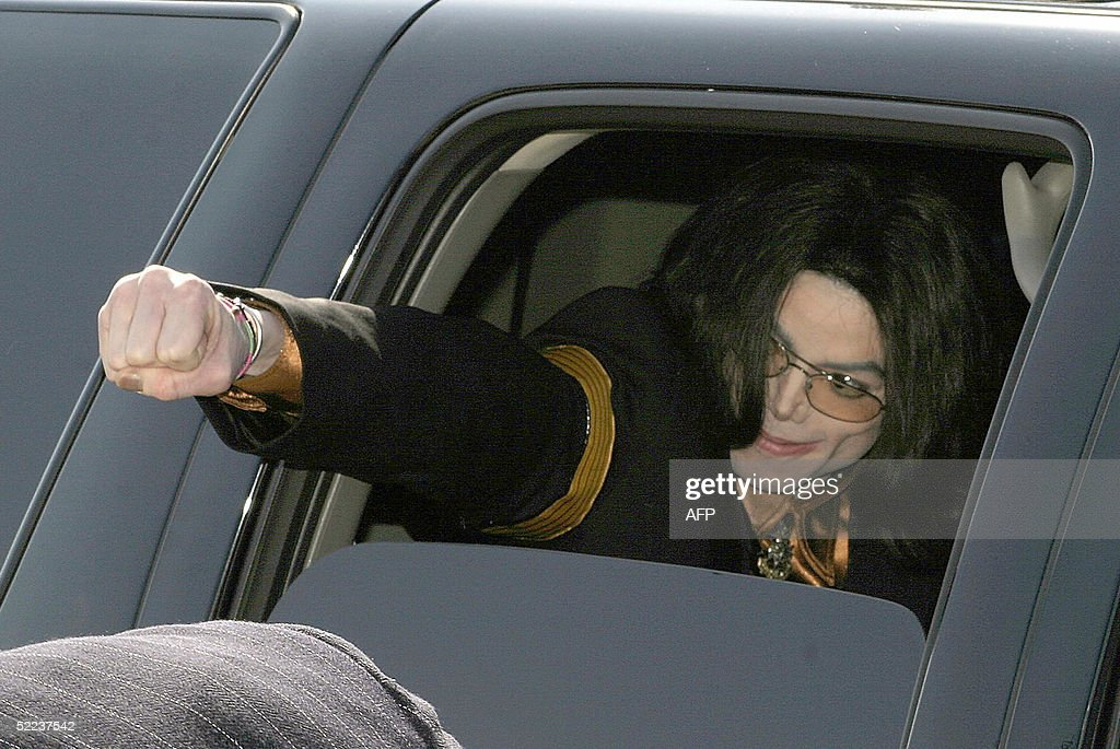 Groovy Us Pop Star Michael Jackson Punches His Fist From The Window Andrewgaddart Wooden Chair Designs For Living Room Andrewgaddartcom