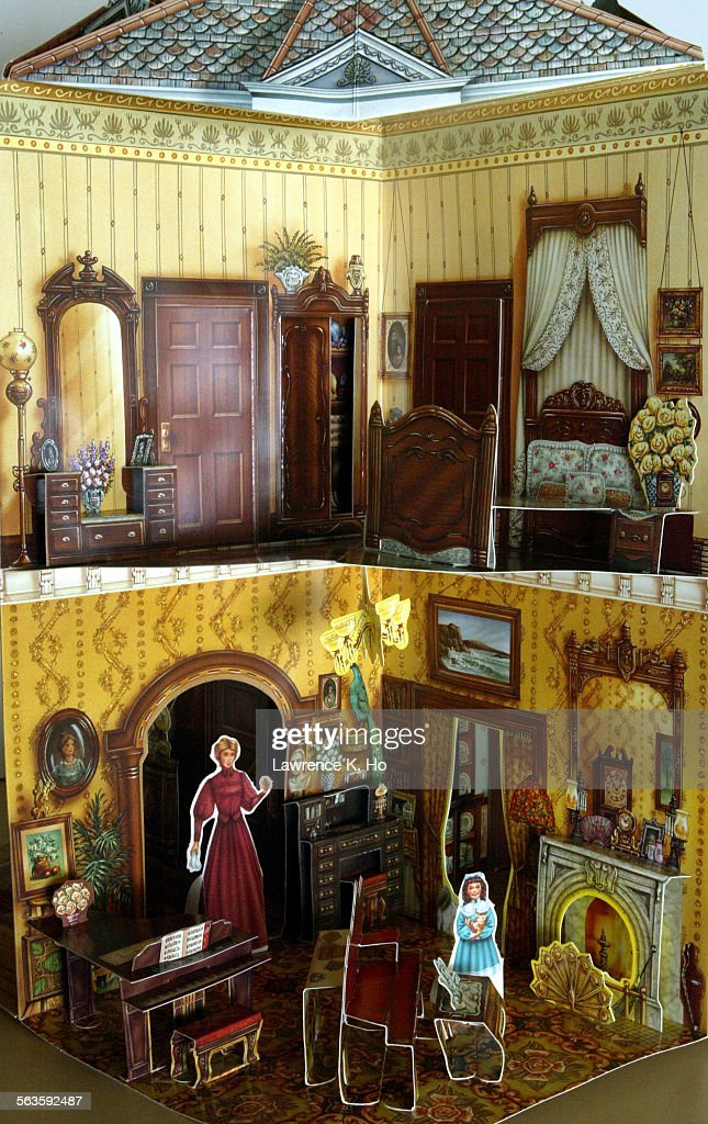 Pop Up Book The Victorian Doll House Published By Waldo Hunt 82 Yr